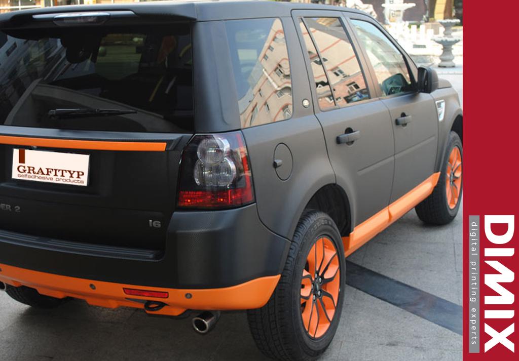 Car Wrap met GrafiWrap matte car wrapping folie - foto 3