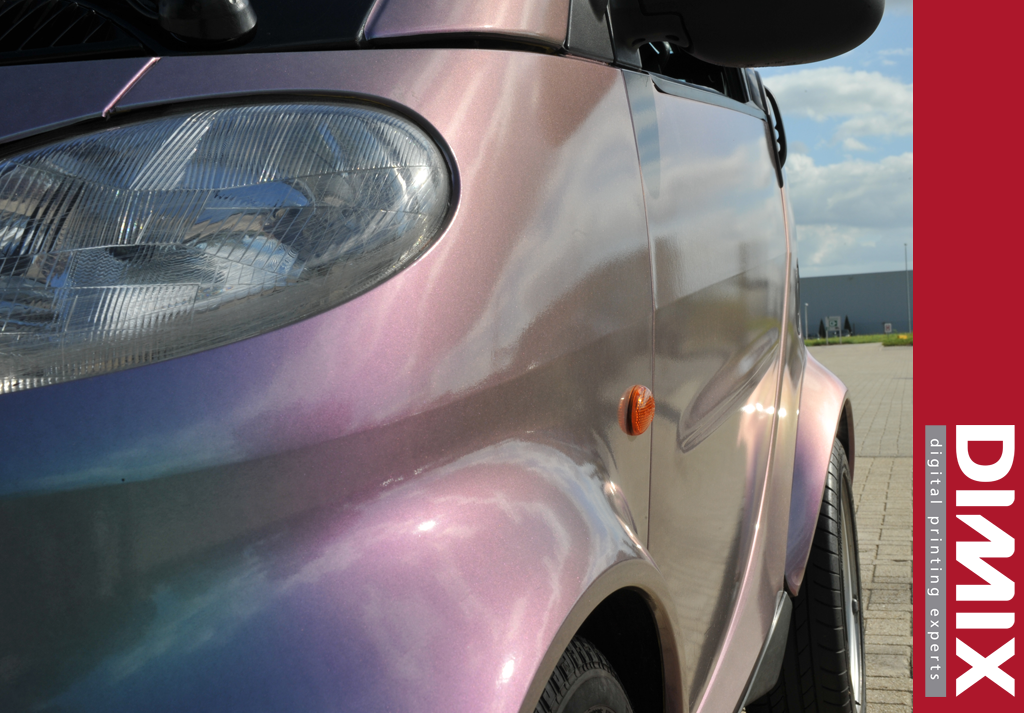Car wrapping met GrafiWrap Colour Wave series - foto 1