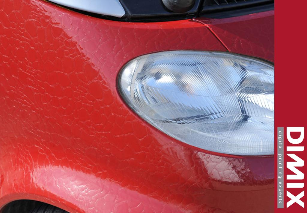 Car wrapping met GrafiWrap Leatherlook - application 2