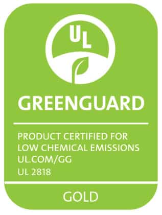 Greenguard Gold certficiate