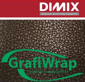 GrafiWrap AMD leatherlook car wrapping film