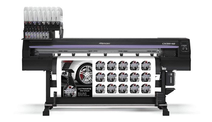 Mimaki CJV300-160 MBIS bulk ink systeem