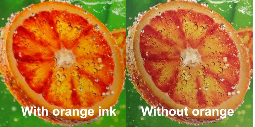 Mimaki CJV300 Mimaki CJV150 met of zonder oranje inkt