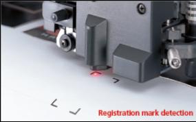 Mimaki FXII series snijplotters - laserpointer
