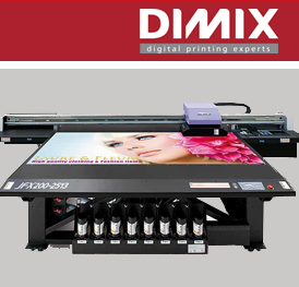 Mimaki JFX200 flatbed printer