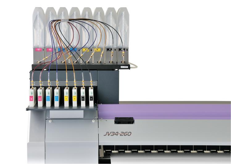 Mimaki JV34-260 MBIS systeem