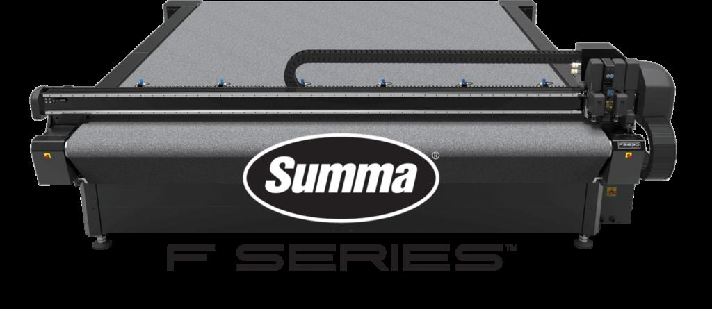 Summa F-series vlakbed snijplotters
