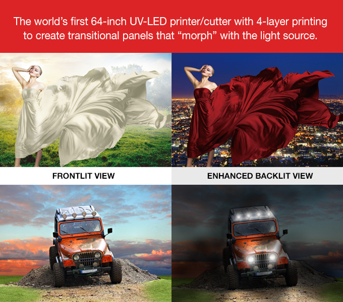UCJV serie unieke night & day feature