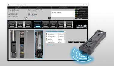 axis-control software voor Summa vlakbed snijtafels