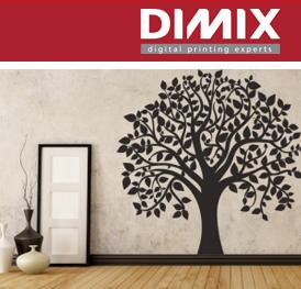printmedia voor muurdecoratie - fotobehang