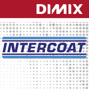 Intercoat 1600 P3 - wit glanzende monomere printfolie 100 micron - permanente transparante lijm - rol 1050mm x 50m