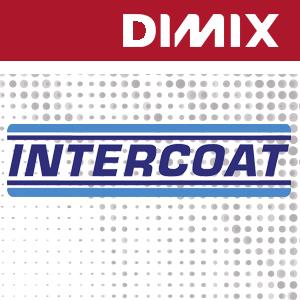 Intercoat 1600 P3xG - wit glanzende monomere printfolie 100 micron - permanente grijze lijm - rol 1050mm x 50m
