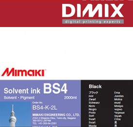 Mimaki BS4 inkten (eco-packs 600 ml & bulk)
