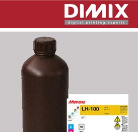 Mimaki LH-100 inkten (cartridges, alu-packs & bulk-flessen)
