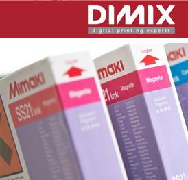 Inkten voor Mimaki mild & ecosolvent printers