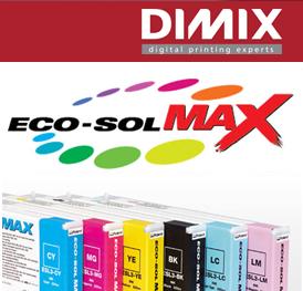 Roland EcoSol Max inkt - cartridge 440 ml, cyaan