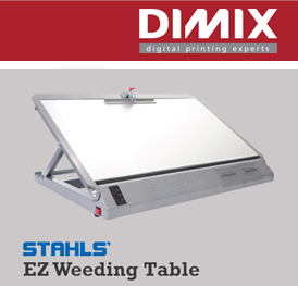 Stahls Hotronix EZ Weeding Table widget