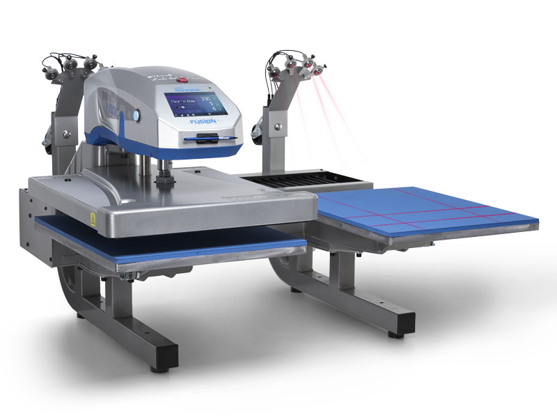 Textieltransfer pers Hotronix Dual Air Fusion