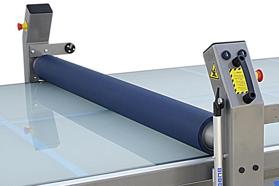 bubblefree applicator siliconerubber wals