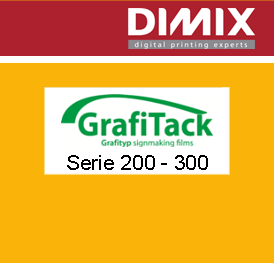 Grafitack 200 - 300 serie polymere plotterfolie