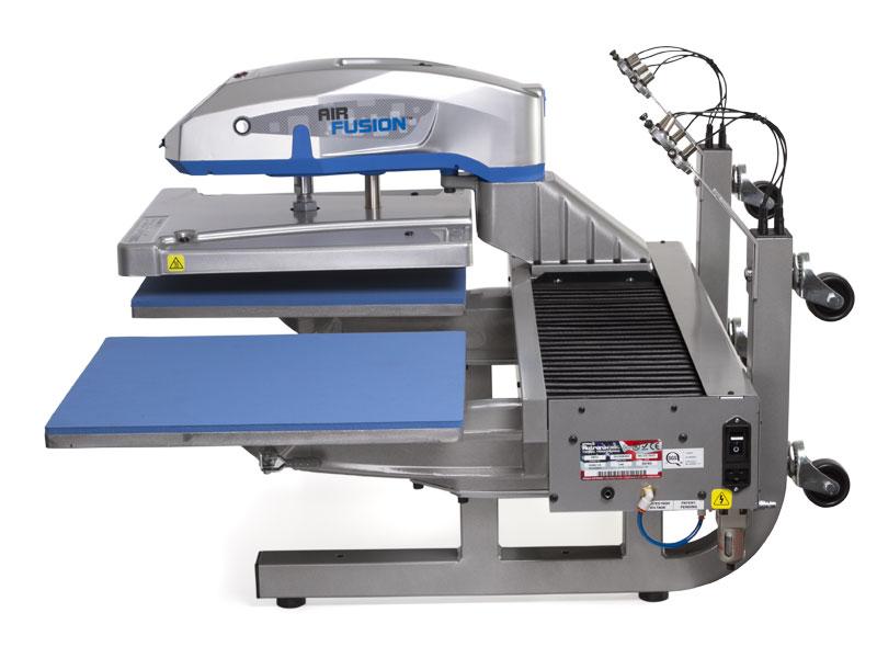 pers voor textieltransfer Hotronix Dual Air Fusion