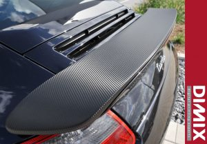Carbon wrapping film - grafiwrap application sample 7