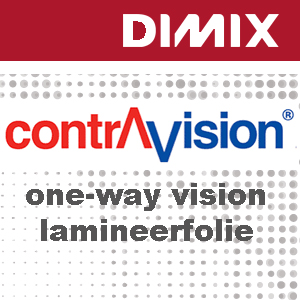 ContraVision CL50CY gegoten one-way vision laminaat - glanzend - 50 micron - Rol 1370mm x 50m