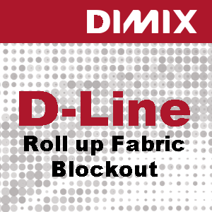 D-Line Wall Deco & Roll-up Fabric - blockout - Rol 1067mm x 30m