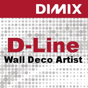 D-Line Wall Deco Artist PVC-behang met linnenstructuur - Rol 1370mm x 30m