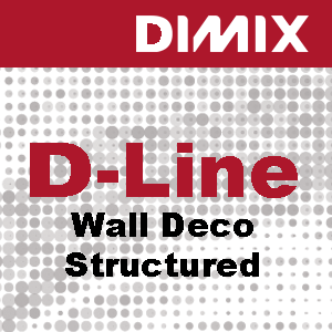 D-Line Wall Deco Structured PVC-behang met stuc structuur - Rol 1370mm x 30m