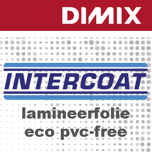 Intercoat 7652 - PVC-vrij laminaat (op basis BOPP) - glanzend - dikte 60 micron - Rol 1400mm x 50m