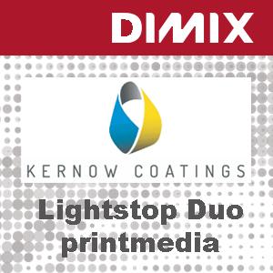 KC Solvent Matt Lightstop Duo 195 SMSD - Rol 1270mm x 30m