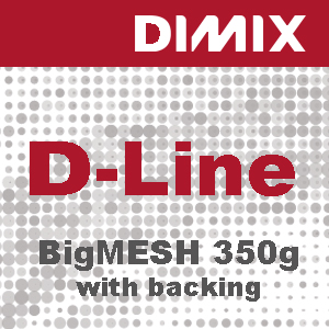 D-Line BigMesh FR Backing - 350 g/m2 - B1- Rol 1110mm x 50m