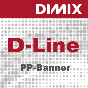 D-Line PP-banner 180 micron - wit mat - Rol 914mm x 50m