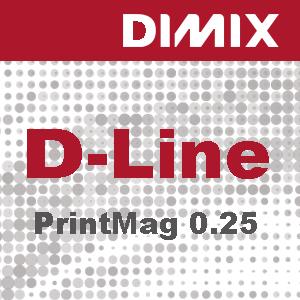 D-Line PrintMag 0,25mm White satin polyester magnetic film - Rol 1370mm x 30m