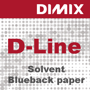 Solvent blueback paper D-Line printmedia