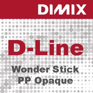 D-Line Wonder Stick PP Opaque - Rol 1270mm x 30m