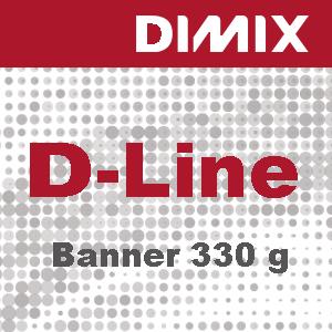 D-Line Banner 330g/m2 - gelamineerd pvc-spandoek - Rol 1100mm x 30m