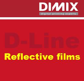 reflecterende plotterfolie D-Line 8586 Reflective Red