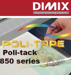 Poli-tack 850 series heat transfer application tapes