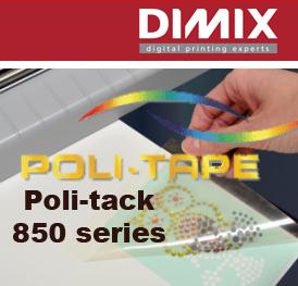 Poli-tack 850 series heat transfer application tapes