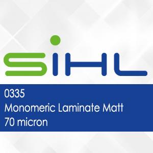 0335 - Sihl Monomeric Laminate Matt - 70 micron