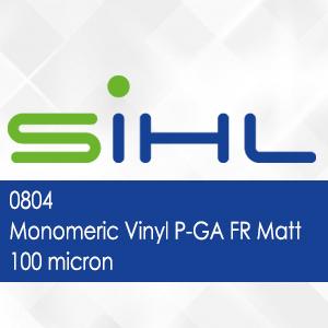 0804 - Sihl Monomeric Vinyl P-GA FR Matt - 100 micron