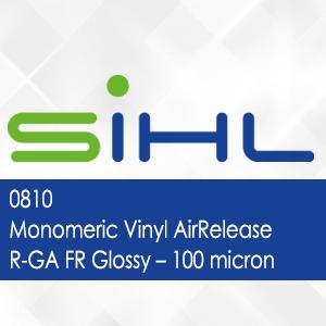 0810 - Sihl Monomeric Vinyl AirRelease R-GA FR Glossy - 100 micron