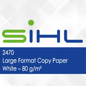 2470 - Large Format Copy Paper White - 80 g/m2