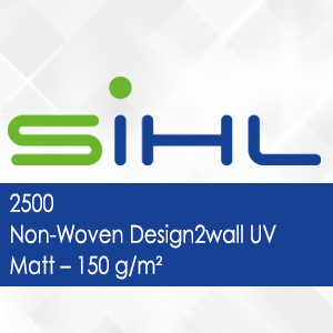 2500 - Non-Woven Design2wall UV Matt - 150 g/m2