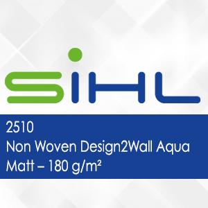 2510 - Non Woven Design2Wall Aqua Matt - 180 g/m2