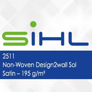 2511 - Non-Woven Design2wall Sol Satin - 195 g/m2