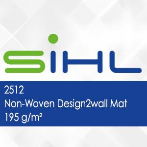2512 - Non-Woven Design2wall Mat - 195 g/m2
