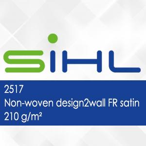 2517 - Non-woven design2wall FR satin - 210 g/m2
